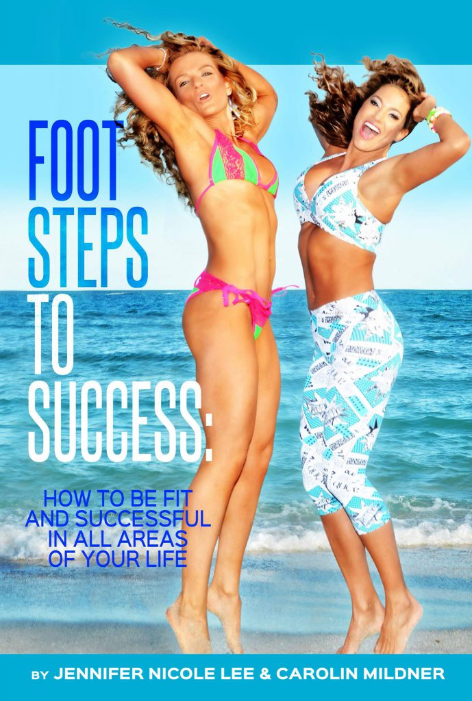 """Buchcover """"Foot steps to success"""""""