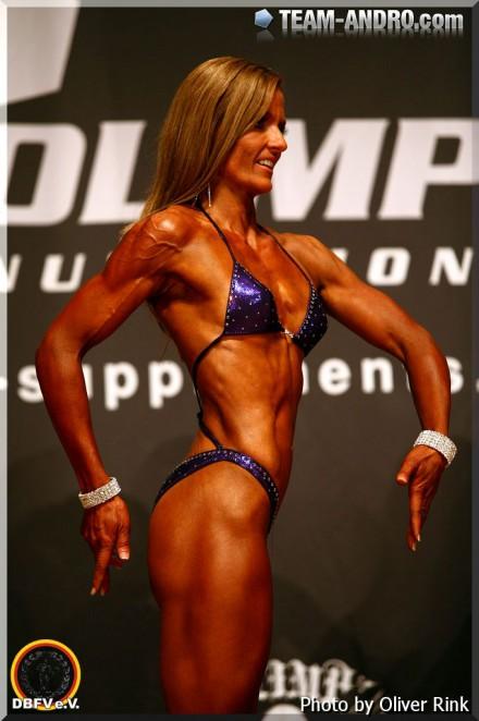 2013. 4. Platz auf der Deutschen Meisterschaft, Fitness Figur